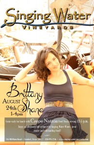 Brittany Shane Poster